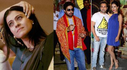 Busy actors: Kajol, Abhishek, Emraan