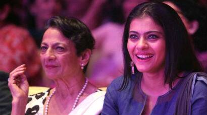 Mother-daughter duo Kajol, Tanuja support cancer awareness