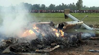 7 IAF personnel killed in chopper crash in UP