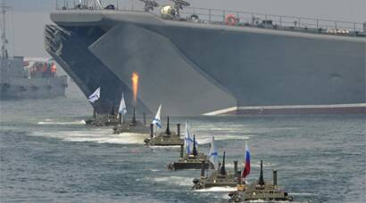 Russia celebrates Navy Day