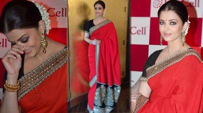 PHOTOS: Stunner Aishwarya Rai Bachchan goes traditional