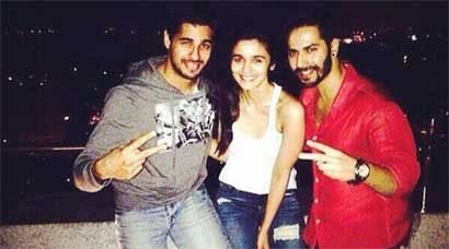 Karan Johar's Students - Varun, Alia, Sidharth - celebrate their success