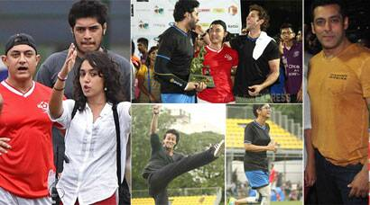 Salman, Abhishek, Hrithik play charity football match for Aamir Khan's daughter Ira