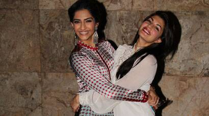 PHOTOS: Sonam Kapoor watches friend Jacqueline Fernandez's 'Kick'