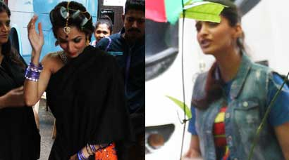 Sonam Kapoor, Malaika Arora Khan shoot for 'Dolly Ki Doli'