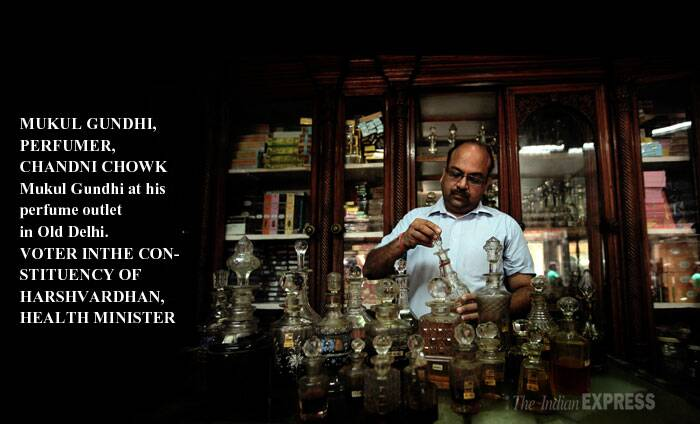 MUKUL, 44, represents the seventh generation, running a family business at Old Delhi's Dariba Kalan. His perfume company Gulab Singh Johrima stands out in one of the country's oldest jewellery markets. Gundhi, married with two children, runs it with his father, a brother and an uncle. <br />      An imminent new tax regime (GST) and the associated uncertainties are the budget feature that concerns him. (Reporting by Kaunain Sheriff M)
