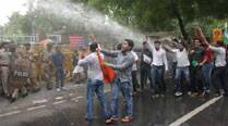 ABVP joins NSUI protest, demands scrapping of C-SAT examination