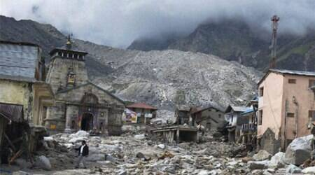 The 22-km treacherous route to the Kedarnath valley presents the story of  braveheart. (Source: PTI)