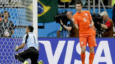 The Dutch captain has 3 goals in the tournament so far and is one of their most important players. (Source: AP)