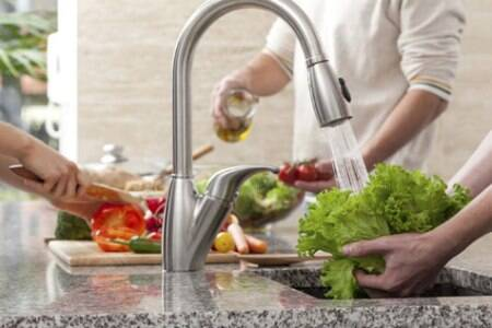 Never ever do this: Don't wash your vegetables under running tap