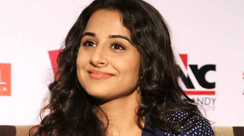 """I am very selfish, I don't think of anything but what I want to do,"" Vidya said."