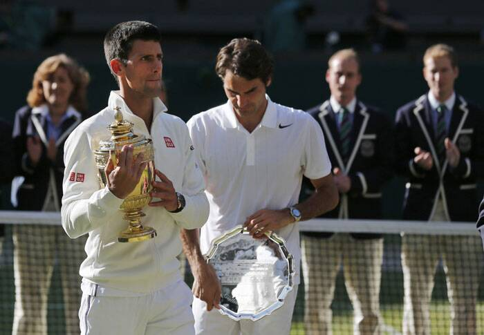 The Wimbledon triumph helps Djokovic pip Rafael Nadal for the No. 1 spot in the rankings which will be issued on Monday (Source: AP)