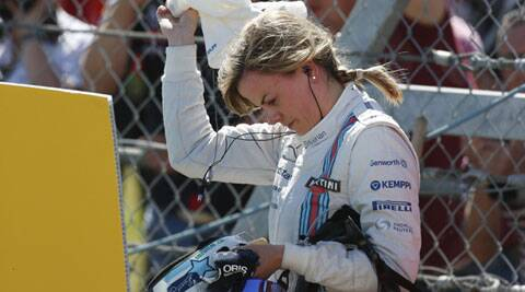 Susie Wolff was bitterly disappointed to have her British Grand Prix practice session cut short by an engine failure but she refused to dwell on her misfortune. (Source: AP)