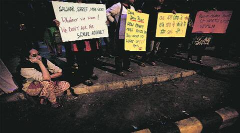 Activists have been demanding better safety measures for women since the December 16 gangrape. (Source: Express photo)