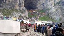 Violence near Amarnath base camp, yatra suspended