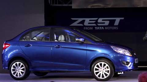 Once the booking is done and the Zest is launched, customers can visit Tata dealerships for detailed pricing and features of various models. (Source: AP)