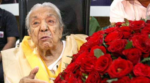 The President today wrote a condolence message to Sehgal's daughter Kiran. Sehgal died yesterday at the age of 102.