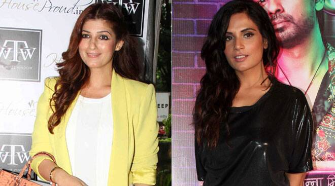 Twinkle Khanna brightens up in yellow, Richa Chadda takes out her 'Tamancha'