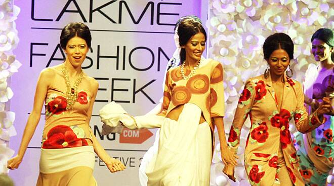 Lakme Fashion Week Winter/ Festive2014 whivh kick started on Tuesday will last till August  24.