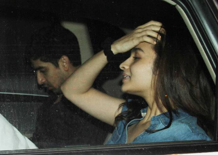 Alia in the car with Ayan. (Source: Varinder Chawla)