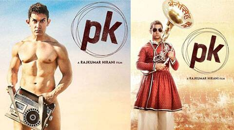 Actor-filmmaker Aamir Khan on Wednesday unveiled the second poster of 'PK'. He said about 10 more posters will come out and each one of them will tell a story.
