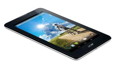 The new Iconia A1-713 runs Android KitKat