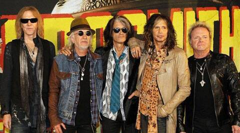 Rock band Aerosmith has postponed its show in California following the illness of drummer Joey Kramer.