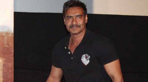 Ajay Devgn plays a supercop in 'Singham Returns'.