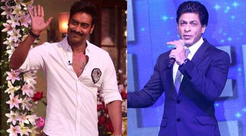 """I never said that there is no equation with SRK, I had said that there is no friendship and I still maintain that. But that does not mean that we are enemies, we are colleagues and I have respect for what he is doing and hope he too does,"" Ajay Devgn said. (Source: Varinder Chawla)"