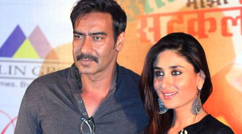 """He is like a real superhero. Our culture is such that we don't need a lot of back up to become superheros. The character is already larger than life,"" Devgn told PTI in an interview during a visit to the city. (Source: Express Photo by Partha Paul)"
