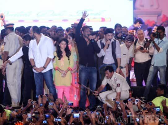 Rani Mukerji turns Govinda on Janmashtami, Ajay, Bipasha celebrate Dahi Handi