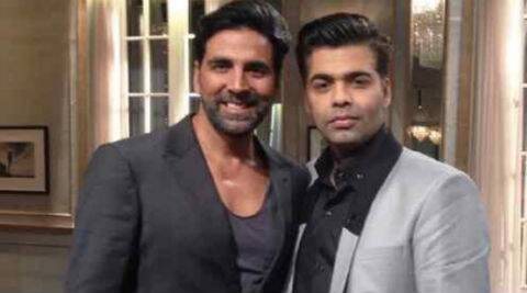 Akshay Kumar appeared on the last season of Karan Johar's chat show 'Koffee With Karan'.