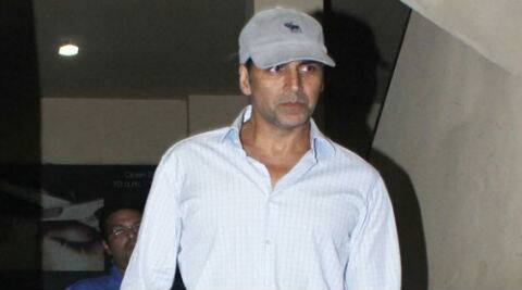 Akshay Kumar said to him safety comes first.