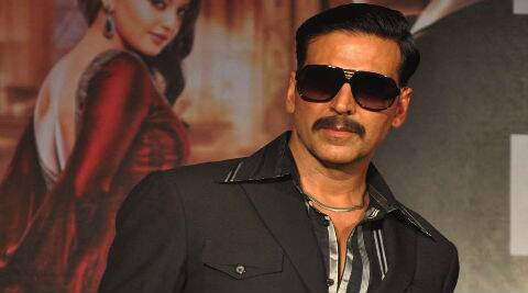 Rick has styled Akshay for his upcoming film 'Gabbar'.
