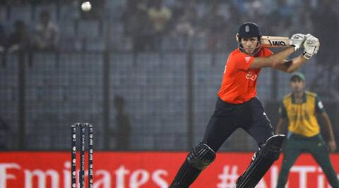 Alex Hales went unsold in the auctions for the 2014 edition of the cash-rich Indian Premier League (Source: AP)