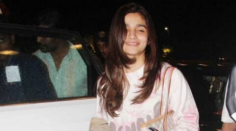 "Alia Bhatt says she did the video for a lark. ""I thought it would be really cool. So I did it."""