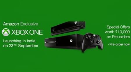 The Xbox One will be available in India beginning September 23 at Rs 39,990 and Xbox One with Kinect will be available at Rs 45,990.