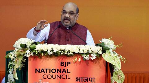Amit Shah said party should expand its reach across the country like the Congress did all these years, maintaining that the party cannot rule for long otherwise. (Source: PTI)