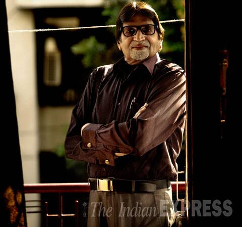 Amit, who looks like Amitabh Bachchan, in Capital. (Source: Express Photo by Praveen Khanna)