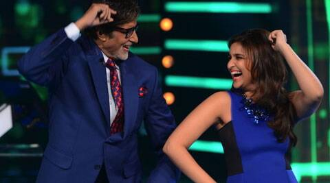 "Amitabh tweeted: ""The song was so tempting to dance to from their film just could not resist."""
