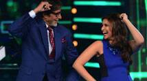 Parineeti Chopra, Aditya Roy Kapur shoot KBC with Amitabh Bachchan