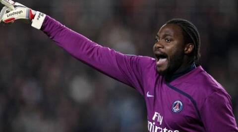 Cameroon goalkeeper Edel had hit a roadblock after none of the clubs showed interest in him. (Source: Reuters)