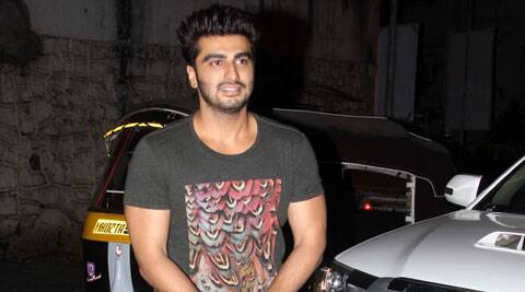 Arjun Kapoor was shooting the song sequence with Shruti Haasan.
