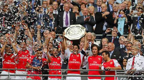 Arsenal thoroughly deserved their emphatic win in the traditional curtain-raiser to the new English season. (Source: Reuters)
