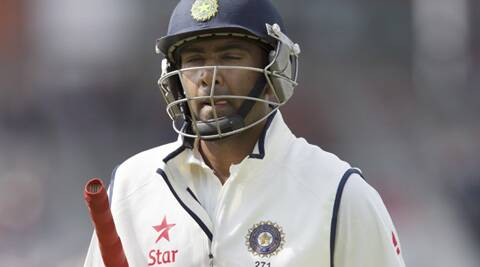 After sitting out in the first three Tests, he scored a crucial 40 runs and added 66 runs with Dhoni to help India avoid complete embarrassment. (Source: AP)