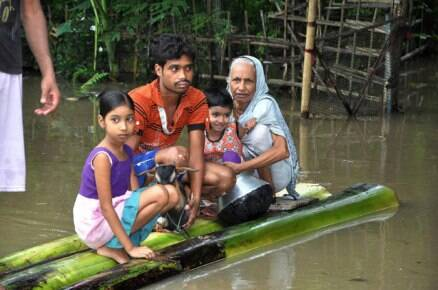 Over 12 lakh affected in Assam floods