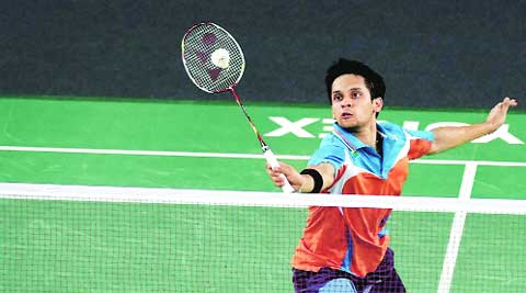 Kashyap beat England's Rajiv Ouseph 18-21 21-17 21-18 in an one hour and 23 minute semifinal. (Source: PTI)