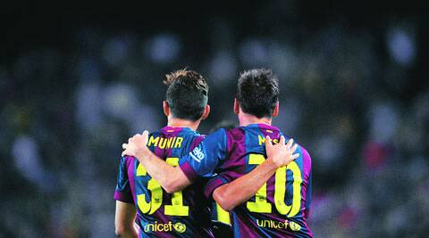 Barcelona beat Elche 3-0 in the first game of the season at Nou Camp. (Source: AP)