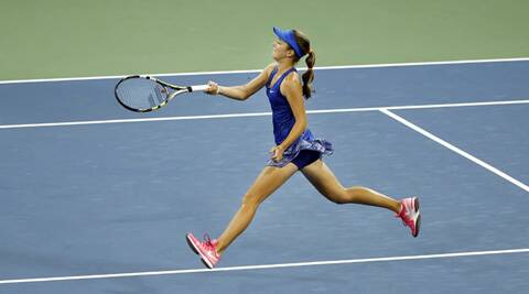 After a dream start, Catherine Bellis fell 6-3 0-6 6-2 to Kazakhstan's Zarina Diyas (Source: AP)