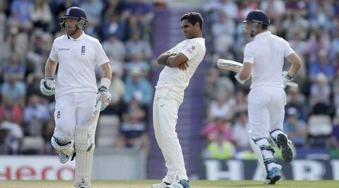 "Bhuvneshwar Kumar's ""swollen leg"" will be a point of discussion when the selectors meet on Tuesday (Source: AP)"